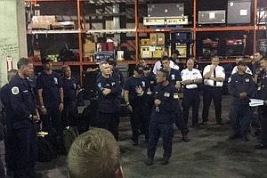 On The Anniversary of Sept. 11, FDNY Deploys To Hurricane Florence