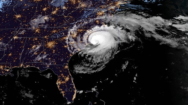 Hurricane Florence's eyewall reached the N.C. shore early...