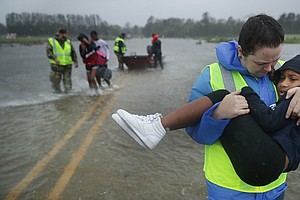 More Than 100 Await Rescue In New Bern, N.C.