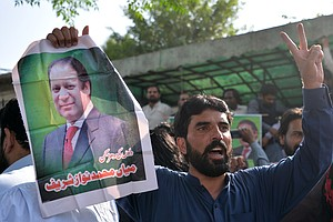 Former Pakistani Prime Minister Released From Prison 2 Mo...