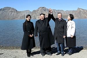 Kim Wants New Summit With Trump, Moon Says After Visiting...