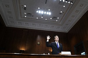 Brett Kavanaugh Offers Fiery Defense In Hearing That Was A National Cultural ...