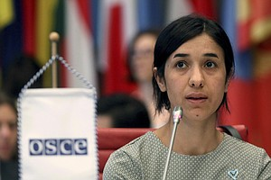 Once Enslaved By ISIS, Nadia Murad Is Co-Recipient Of Nob...