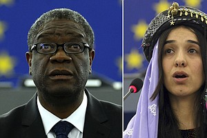 Nobel Peace Prize Goes To Denis Mukwege And Nadia Murad For Fighting Sexual V...