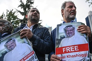 Mystery Deepens Around Missing Saudi Journalist Jamal Kha...