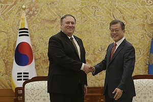 Pompeo: 'We Continue To Make Progress' With North Korea