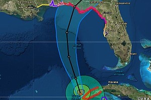 Hurricane Michael Forecast To Hit U.S. Gulf Coast As A Ma...