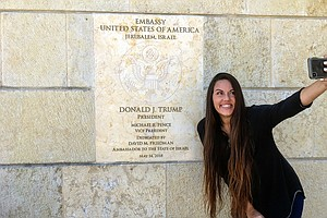 For Some Americans, Jerusalem's Newest Pilgrimage Site Is...