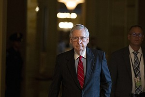 McConnell Warns Of 'Scary Prospect' If GOP Loses Senate C...