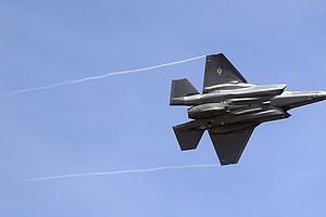 Following Crash, All F-35s Temporarily Grounded For Inspections