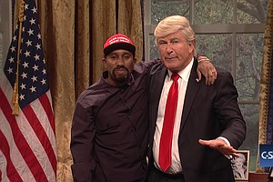 'SNL' Spoofs Kanye West, Welcomes Back Paul Simon