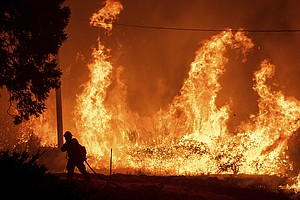 To Prevent Wildfires, PG&E Pre-Emptively Cuts Power To Th...