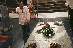 Spain Plans To Remove Franco's Remains From A Memorial, A...