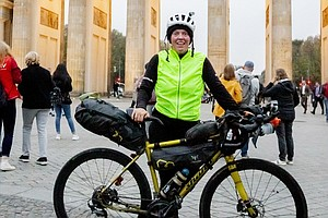 Jenny Graham Cycles Around The World In Under 125 Days, S...