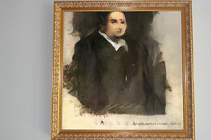 A.I. Produced 'Portrait' Will Go Up For Auction At Christ...