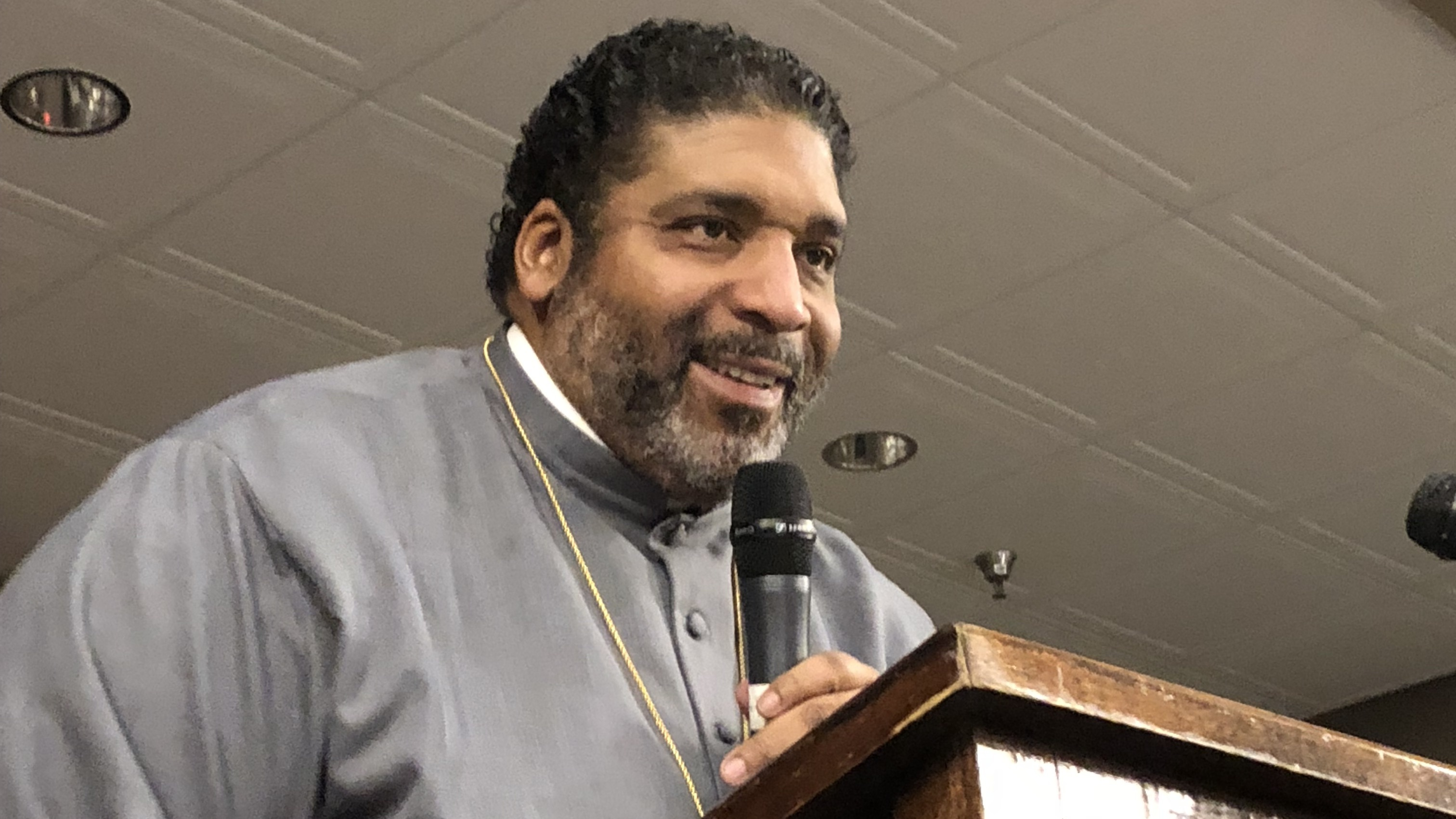Preaching Gospel Of Love And Justice, William Barber