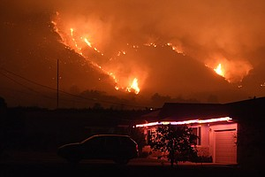 Southern California Edison Says Its Equipment May Have Helped Start Thomas Fire