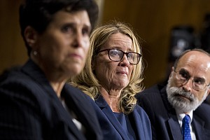 Kavanaugh Accuser Christine Blasey Ford Continues Receivi...
