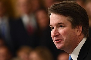 Heightened Security As Brett Kavanaugh Formally Takes Sup...