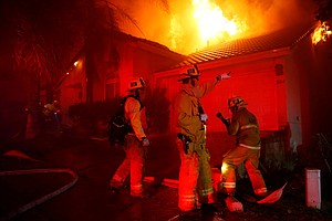 At Least 6 Dead, 150 Homes Burned As Blazes Ravage Califo...
