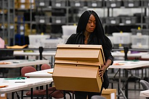 Hand Recounts Progress In Florida Senate Race