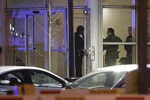 4 Dead Including Police Officer After Shooting At Chicago...