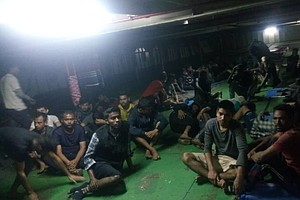 Migrants Forced Off Ship After They Refused To Return To ...