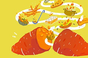 Sweet Potatoes: It's A Thin Line Between Love And Hate