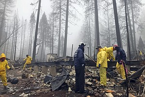 Northern California Camp Fire Contained