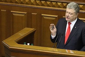 Ukraine Parliament Approves Martial Law After Naval Skirmish With Russia