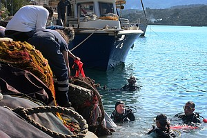 Meet Greece's Marine Trash Collectors Diving To Keep Thei...