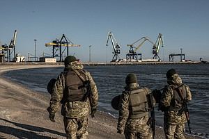 Amid Escalating Tension, Ukraine Bans Russian Men From Cr...