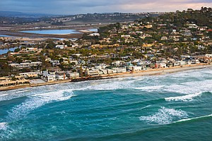 'Retreat' Is Not An Option As A California Beach Town Pla...