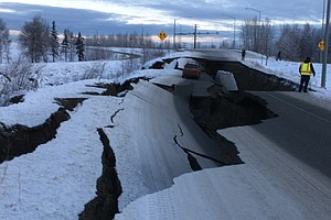 Magnitude 7.0 Earthquake Shakes Alaska, Damaging Roads, Buildings