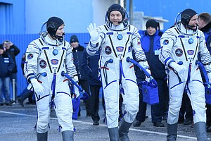 Soyuz Rocket Launches, Docks Successfully To Relief Of NA...