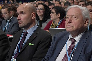David Attenborough Warns Of 'Collapse Of Civilizations' At U.N. Climate Meeting