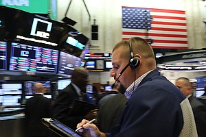 Dow Drops 799 Points, As Topsy-Turvy Interest Rates Boost...