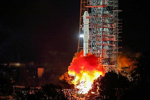 China Launches Probe Bound For A Historic Exploration Of The Far Side Of The ...