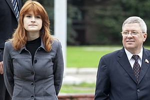 Maria Butina, Accused Of Being Russian Agent, Reaches Ple...
