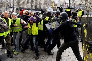 After More 'Yellow Vest' Protests, France's President Mac...