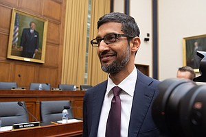 Google CEO Says He Leads 'Without Political Bias' In Cong...