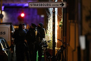 Suspected Strasbourg Shooter Killed By Police, French Aut...