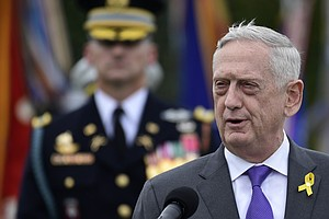 Trump Says Jim Mattis Will Leave By Jan. 1, Announces Act...