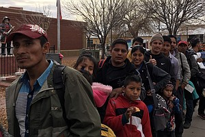 ICE Continues To Release Asylum-Seekers At Public Park In...