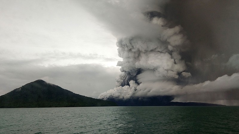 indonesia extends exclusion zone around volcano that