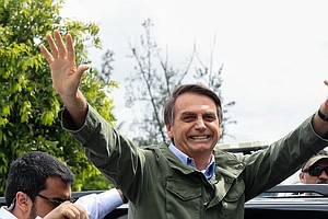 Jair Bolsonaro, A Polarizing Figure, Prepares To Become B...