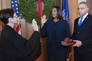 N.Y. Swears In New Attorney General After A Tumultuous Year For The Office