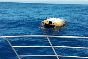 Sailboat From U.S. Teen's Doomed Round-The-World Attempt Found Drifting Off A...