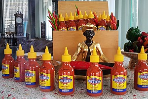 In Home Of Original Sriracha Sauce, Thais Say Rooster Bra...