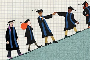 College Completion Rates Are Up, But The Numbers Will Sti...